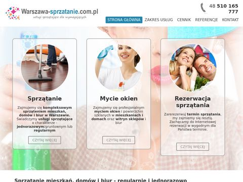 Usługi sprzątające Warszawa