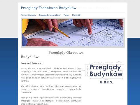 Przeglądy Budynków Warszawa