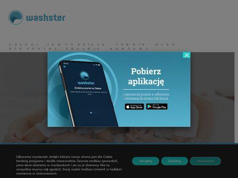 Pralnia warszawa - washster.com