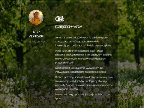 Strony www - Warszawa, �ódź