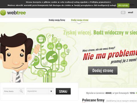 Katalog stron WebTree