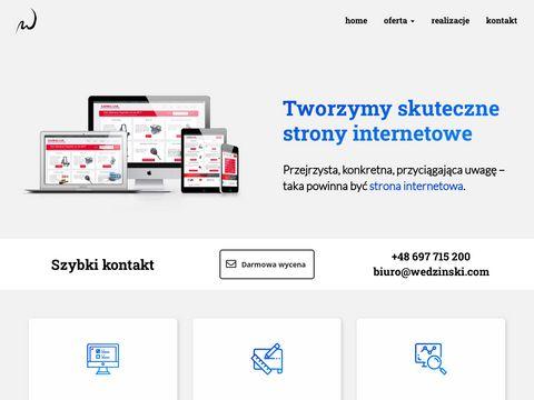 Projektowanie stron internetowych Pozna艅