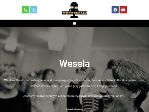 Zespół weselny WeekendBand - zespoły weselne Warszawa