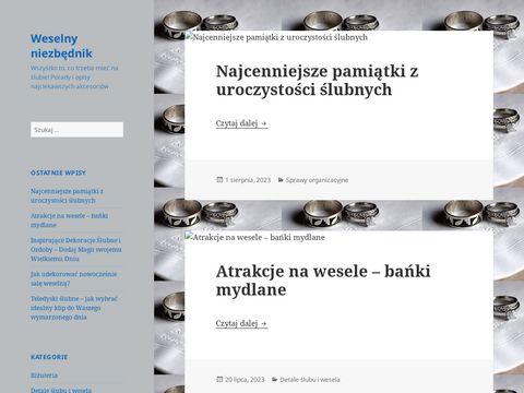 Porady Å›lubne i weselne na www.weselny-niezbednik.pl