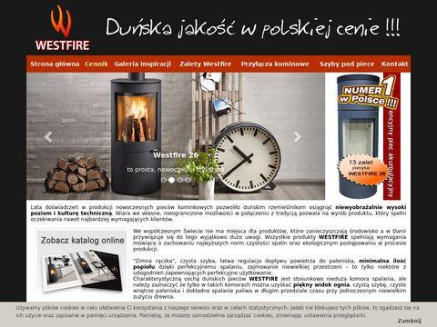 Westfire - duńskie piece kominkowe