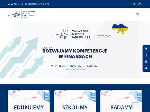 Warszawski Instytut BankowoÅ›ci