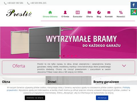 Wiecejnizokna.com brama gara偶owa legnica