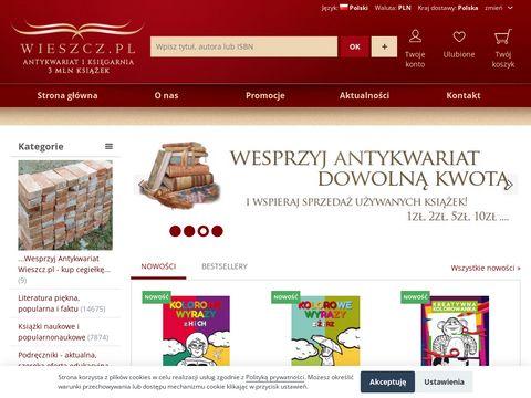Antykwariat i KsiÄ™garnia: wieszcz.pl