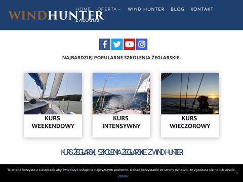 Patent żeglarski Gdańsk - Wind Hunter