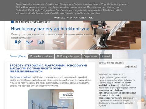 Krzesełka schodowe używane - windy-dla-niepelnosprawnych.pl