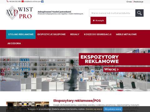 Wist-online.com - Wyposażenie sklepów