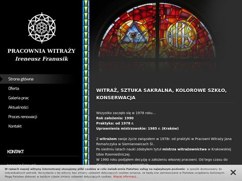Pracownia witraży I. Franusik
