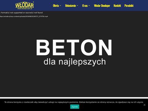 Beton - W艂odar Cz臋stochowa