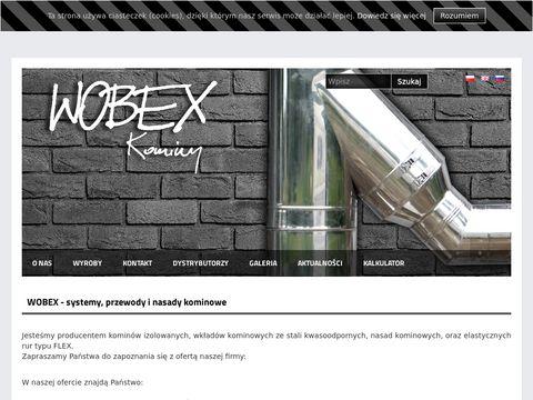 ,,WOBEXP.P.H.U - systemy kominowe