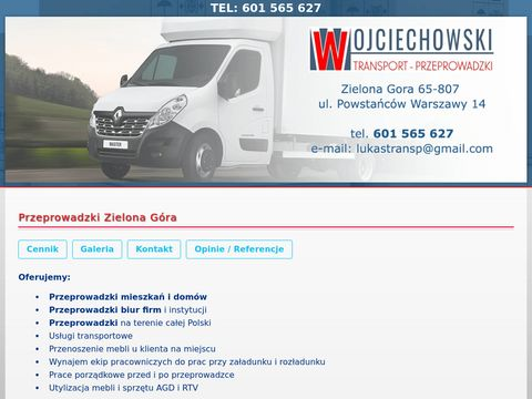 Transport i przeprowadzki Zielona Góra