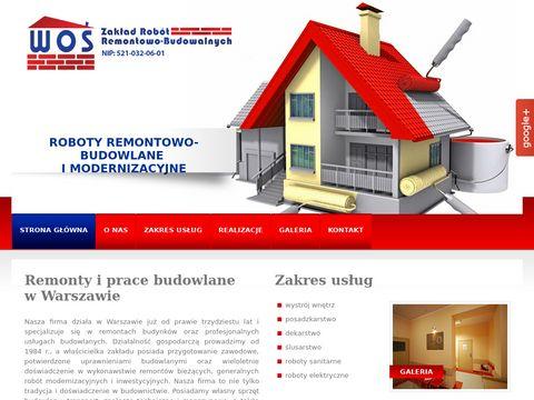 ZOFIA WOŚ Warszawa remont budynków koszarowych