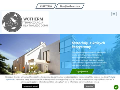 Wotherm.com ocieplanie celulozą Rzeszów