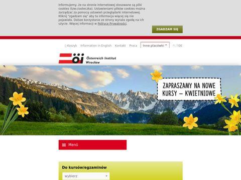 Österreich Institut szkoła niemieckiego we Wrocławiu