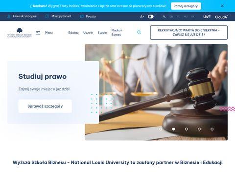 Szkoła Biznesu   wsb-nlu.edu.pl