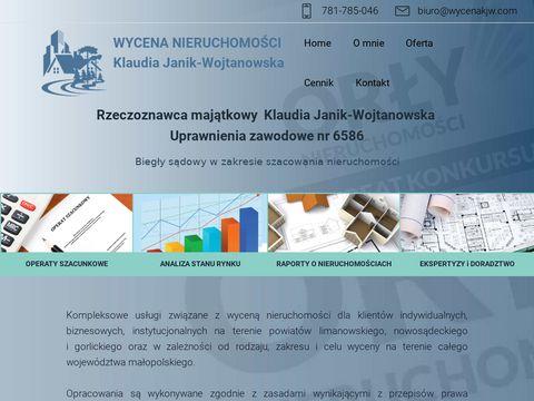 Wycena lokali Nowy S膮cz - wycenakjw.com