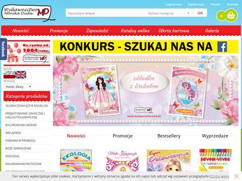 Wydawnictwo MD - książeczki dla dzieci, encyklopedie i kolorowanki