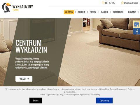 TUKAN Wykładziny dywanowe Szczecin