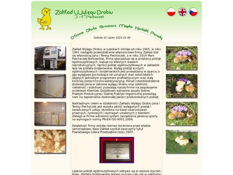 Zakład Wylęgu Drobiu J. i T. Piechaczek www.wylegarnia-drobiu.pl