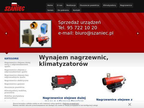 Wypożyczalnia nagrzewnic Warszawa