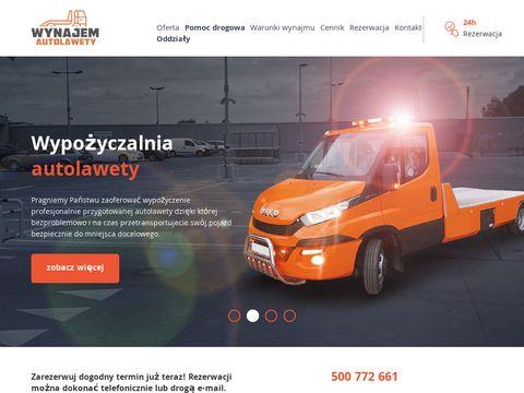 Autolaweta Warszawa