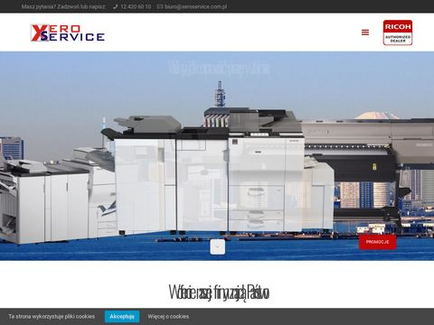 Xero Service kopiarki kserokopiarki, serwis