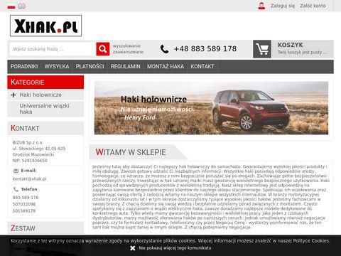 Hak holowniczy - xhak.pl