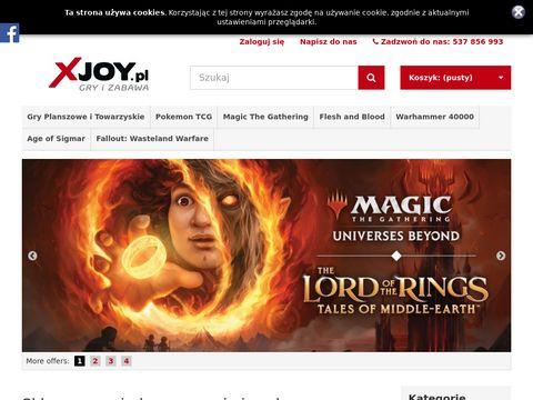 Xjoy.pl - gry planszowe, gry karciane