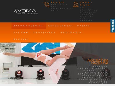 Agencja Medialna YOMA | Taniec z ogniem, pokazy laserowe
