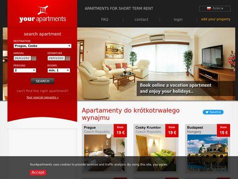 Wynajem apartamentów Bydgoszcz
