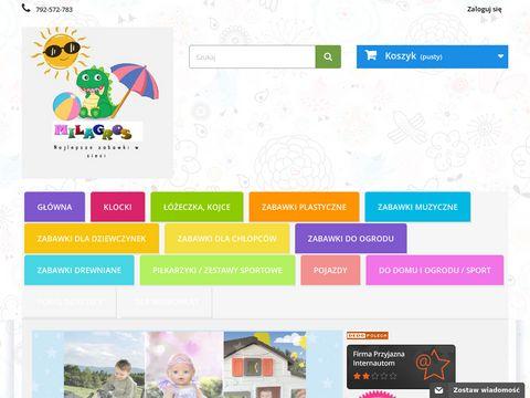 Najlepsze Zabawki w sieci: lalki,wózki,łóżeczka,traktorki, zabawki do ogrodu - MILAGROS Zabawki