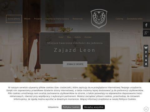 Www.zajazd-leon.com