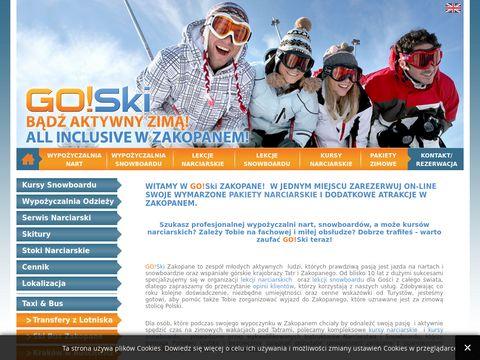 Lekcje narciarskie zakopane - GO!Ski