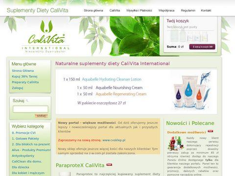 Naturalne suplementy Calivita