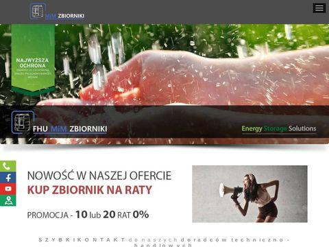 M&M Mariusz Mańkowski zbiorniki na olej napędowy