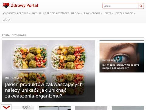 ZdrowyPortal.pl - Leczenie i Objawy chorób