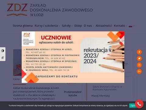 Zakład Doskonalenia Zawodowego szkoły łowicz