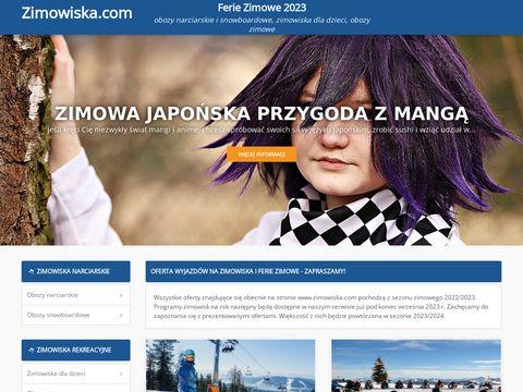 Obozy narciarskie w czasie ferii zimowych