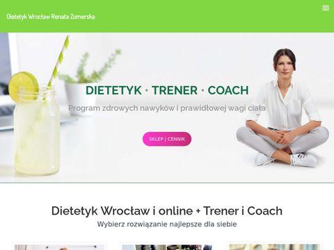 Dietetyk i Trener Wrocław | Dieta online | Szkolenia dietetyczne
