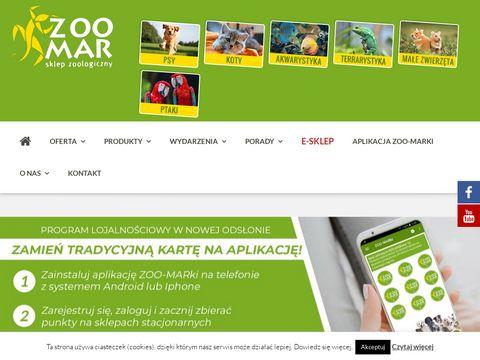 Sklep zoologiczny ZOO-MAR w Raciborzu