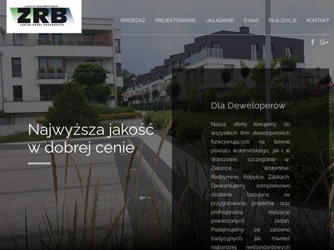 Kostka brukowa - ZRB Kobyłka