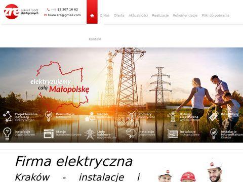 Usługi elektryczne Kraków