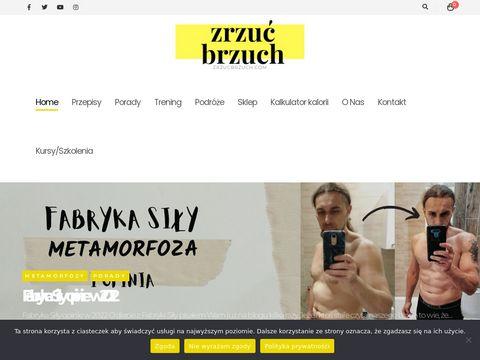 Zrzuć Brzuch - Fit przepisy, porady treningowe i dietetyczne oraz duża dawka motywacji