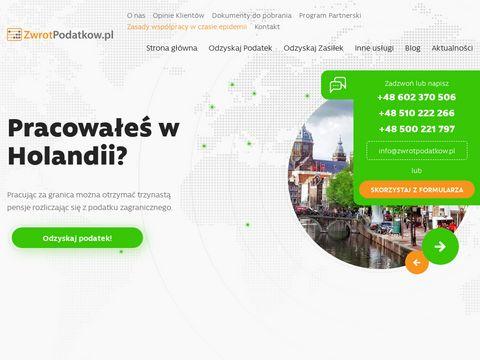 Zwrot podatku Holandia