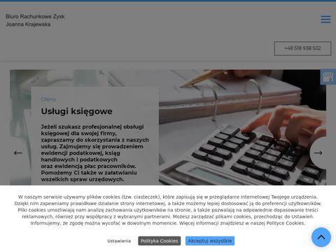 Zysk-gorzow.pl ksi臋gowa gorz贸w wielkopolski