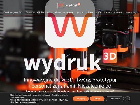 Poligrafia 3D - druk i skan 3D NCTI